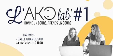 Atelier - AKOLab' #1 : Entraide entre freelances billets