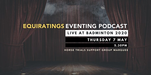 Eventing Podcast Live at Badminton