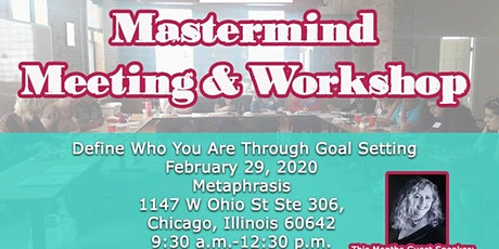 Define Who You Are Through Goal Setting-Chicago tickets