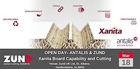 ANTALIS & ZUND -  Xanita Board: Capability and Cutting tickets