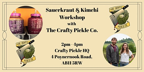 Sauerkraut & Kimchi Workshop with The Crafty Pickle Co. tickets