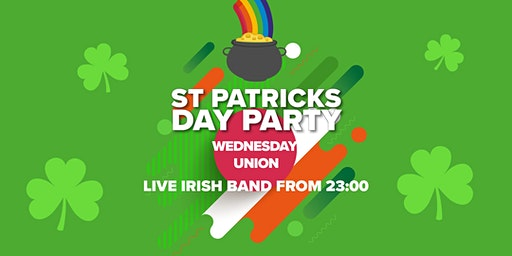 Wednesday Union: St. Patrick's Day Party