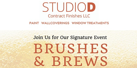 Brushes & Brews tickets