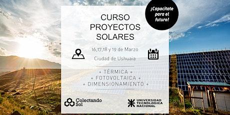 Curso de Proyectos Solares// Ushuaia Marzo 2020 entradas