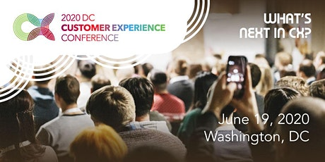 2020 DC Customer Experience Conference tickets