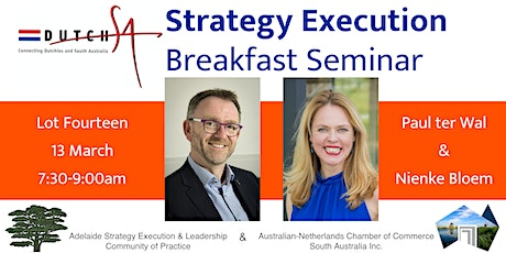 Strategy Execution with Paul ter Wal & Nienke Bloem tickets