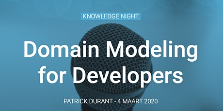 Knowledge Night: Domain Modeling for Developers tickets