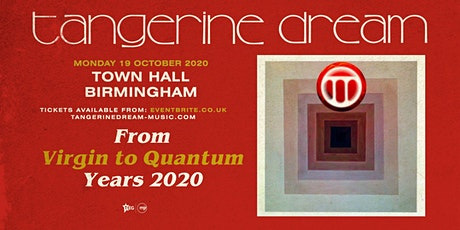 Tangerine Dream (Town Hall, Birmingham) tickets