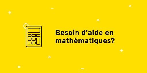 Séance de dépannage en mathématiques