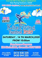Kite Flying Festival 2020 @ Cronulla-Don Lucas Rese on Saturday 14 MAR 2020