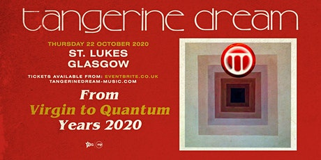Tangerine Dream (St Luke's, Glasgow) tickets