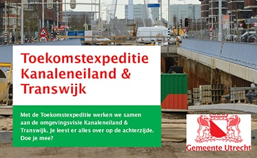 Omgevingsvisie Kanaleneiland en Transwijk tickets