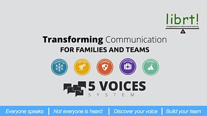 5 Voices for Transforming Communication  tickets