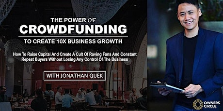 [PENANG] The POWER of Crowdfunding by Jonathan Quek tickets