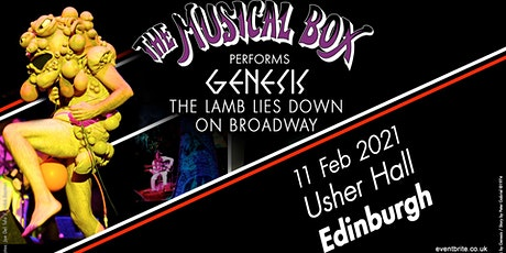The Musical Box 2021 (Usher Hall, Edinburgh) tickets