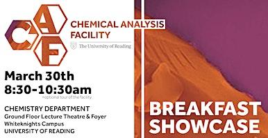 Chemical Analysis Facility Breakfast Showcase