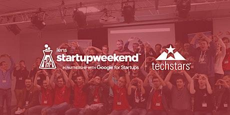 Techstars Startup Weekend Lens billets