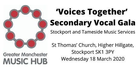 Voices Together: Secondary VocalGala tickets