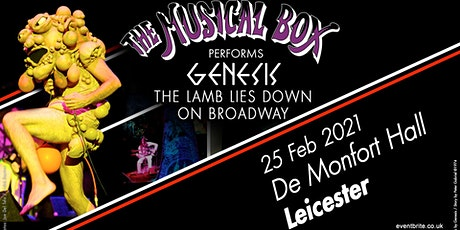 The Musical Box 2021 (De Montfort Hall, Leicester) tickets