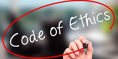 Code of Ethics - Pledge for Performance & Professional Service Responsibility  3 Hours CE - Winder tickets