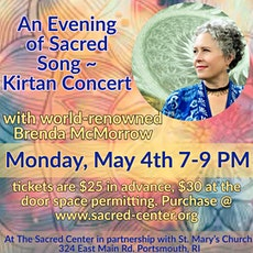 An Evening of Sacred Song ~ Kirtan Concert with Brenda McMorrow tickets