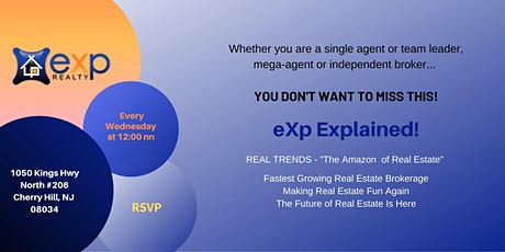 SJ eXp Realty Explained Lunch and Learn tickets