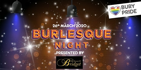 Burlesque at Bridget's tickets