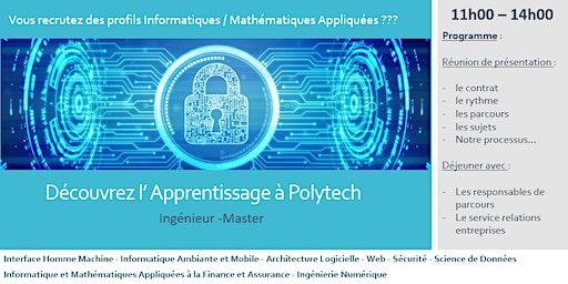 Réunion de présentation Apprentissage Polytech Informatique et Mathématiques Appliquées
