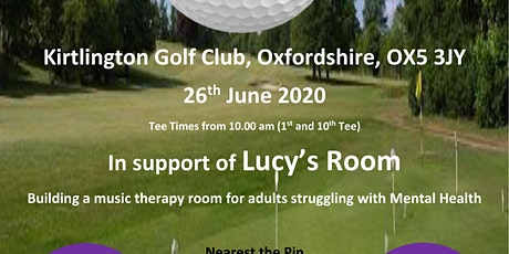 Charity Golf Day tickets