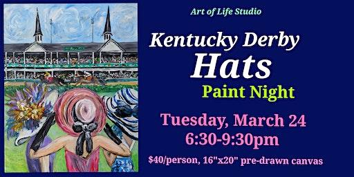 Paint Night: Kentucky Derby Hats