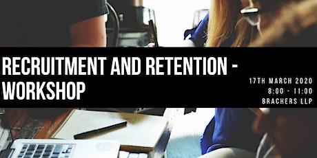 RECRUITMENT AND RETENTION | WORKSHOP tickets
