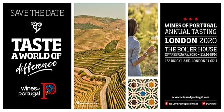Wines of Portugal Annual Tasting London 2020 tickets