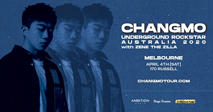 CHANGMO Underground Rockstar World Tour 2020 - Melbourne tickets