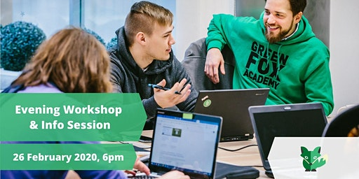Evening workshop and info session