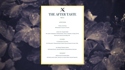 The Aftertaste tickets