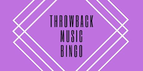 Throwback Music Bingo tickets