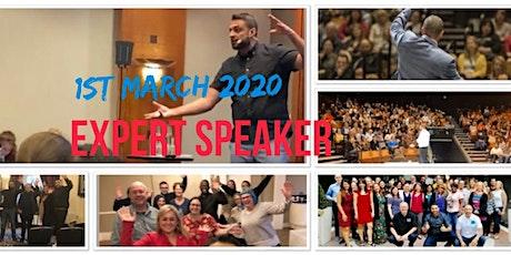 EXPERT Speaker Secrets  SKYROCKET Business and Speaker Impact tickets