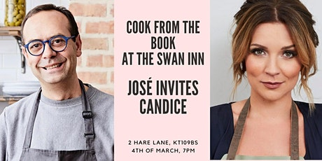 Cook from the book, José Pizarro invites Candice Brown tickets