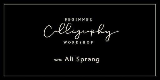Beginner Calligraphy Workshop #2 | Canton, Ohio