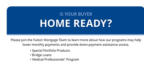 Is Your Buyer Home Ready tickets
