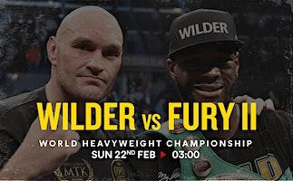 Fury Vs Wilder II - Boxing Live