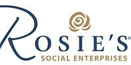 Rosie's Social Enterprises Information an Look Around  - Holburn Street tickets