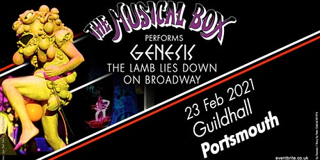 The Musical Box 2021 (Guildhall, Portsmouth) tickets