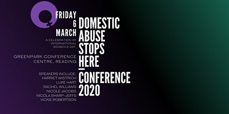 Domestic Abuse Stops Here Conference 2020 tickets