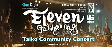 Eleven Gathering - Taiko Community Concert Tickets