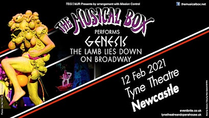 The Musical Box 2021 (Tyne Theatre, Newcastle) tickets