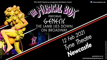 The Musical Box 2021 (Tyne Theatre, Newcastle)