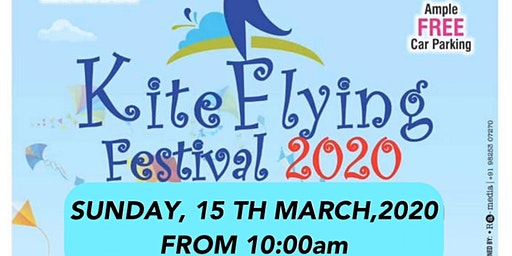 Kite Flying Festival 15 March 2020 @ St Ives Showground