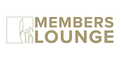 2020 Members Lounge  - Member Tickets