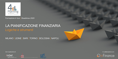 Workshop | La Pianificazione Finanziaria - Roadshow 4Planning 2020 - ed. Torino biglietti